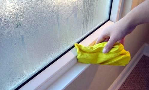 El problema de la condensación en vidrio simples.