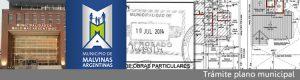 Municipio de Malvinas Argentinas Buenos Aires Tramitación Plano
